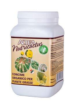 ALTEA NUTRICACTUS KÖRNIGE ORGANISCHER DÜNGER für KAKTEEN mit GUANO IN PACKUNG von 300 g