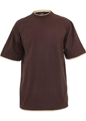 Urban Classics Herren T-Shirt Bro/Bei