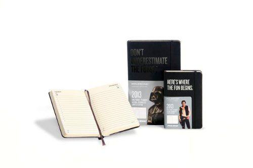 Moleskine 2013, Daily Diary, Large (Moleskine Star Wars)