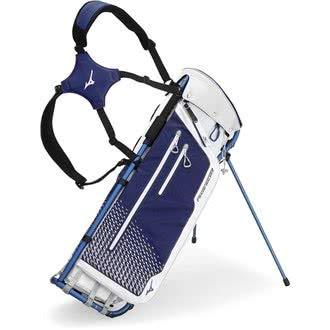 Mizuno Rahmen Walker Golf Stand Bag Einheitsgröße weiß/blau