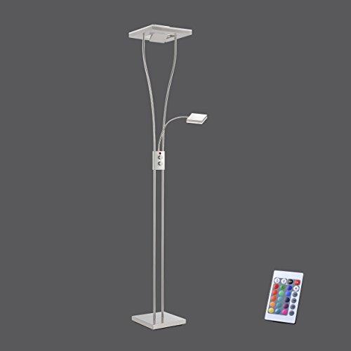 LeuchtenDirekt 11780 Stehleuchte LED RGB W Dimmbar Deckenfluter Lesearm