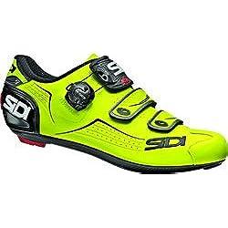 Sidi Zapatillas De Ciclismo Alba Amarillo Fluorescent-Negro (EU 43, Amarillo)