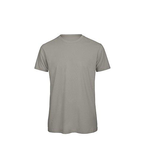 B&C Herren Öko-Baumwolle T-Shirt Schwarz