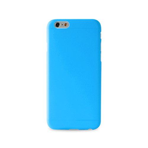 Puro Back Case Ultra Slim 0.3 Schutzhülle (für Apple iPhone 6/6S) Blau (Blau Back Case)