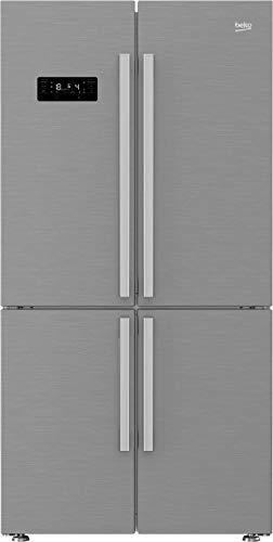 Beko GN1416231JX Stand-alone 530l A++ Edelstahl Kühlschrank Seite - ide-by-side Kühlschrank (Unabhängig, Edelstahl, französische Tür, LED, LCD, Glas)