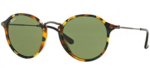 Ray-Ban TORTOISE/Schwarz-Grün Klassische G-15 49mm RB2447 Sonnenbrille