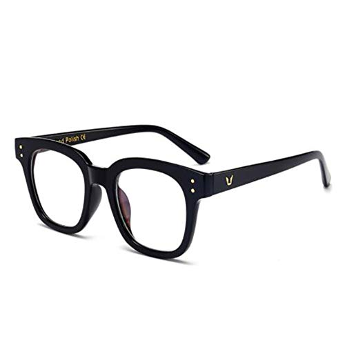 Retro Square Glasses Frame Anti-blue Glasses Female Flat Glasses Game Goggles Male