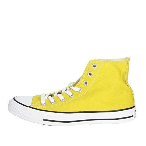 Converse Herren Sneakers Chuck Taylor All Star Hi gelb 36.5 (Gelbe High Top Converse)