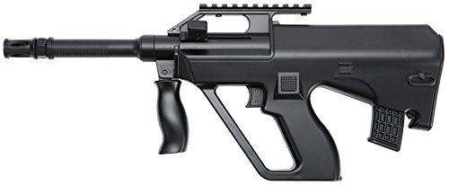 rsoft Spring/Federdruck Gewehr in Schwarz, unter 0.5 Joules, Hop Up System, GRATIS 2000 BULLDOG BBS 0.20G ()