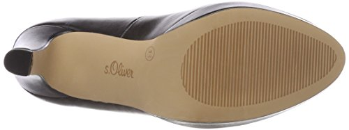 s.Oliver 22410, Scarpe con Tacco Donna Nero (Black Nappa)