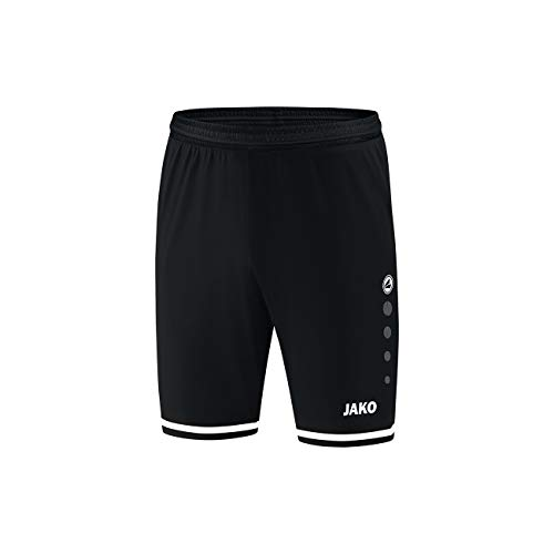 JAKO Herren Sporthose Striker 2.0 Fußballsporthosen, schwarz/Weiß, S