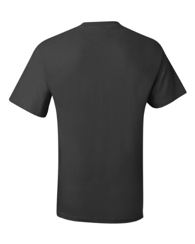 Hanes Men's Beefy-T T-Shirt With Pocket Gris humo