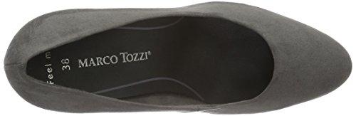 Marco Tozzi Damen 22401 Pumps Grau (GREY 200)