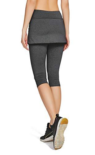 Zoom IMG-3 honoursport donna pantalone capri leggings