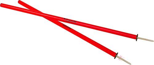 Cawila Slalomstange mit Metallspitze, Länge 1,60 Meter, (rot)