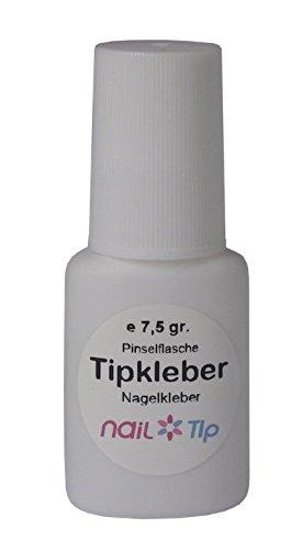Tipkleber / Nagelkleber in Pinselflasche, 7,5 gr.