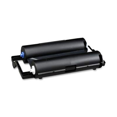 Thermo Tintenpatrone Farbband für die Brother Uni Papier Fax Maschinen-Schwarz (Verkauft in Packungen von 2) -