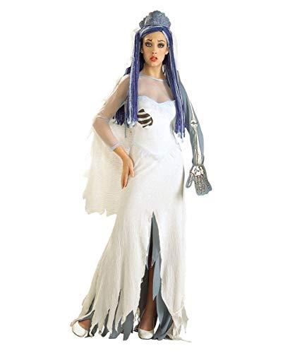 Damen Corpse Bride Kostüm - Horror-Shop Tim Burton's Corpse Bride Halloweenkostüm für Damen Standard