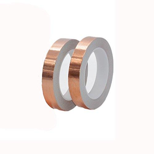 DaoRier – Cinta de lámina de cobre con adhesivo conductor de 5...