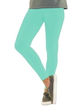 Leggings Ragazze Colorate Pantaloni Lunghe Leggings del Cotone in Diversi Colori e Modelli per Bambini