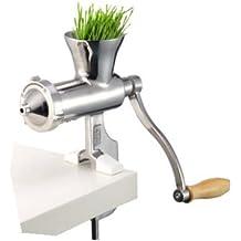 Extractor manual de hierba de trigo de acero inoxidable 304 resistente para exprimir, exprimidor lento
