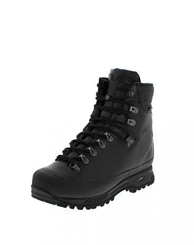 Hanwag Alaska Wide Gtx, Chaussures de Randonnée Hautes Homme Black - Schwarz