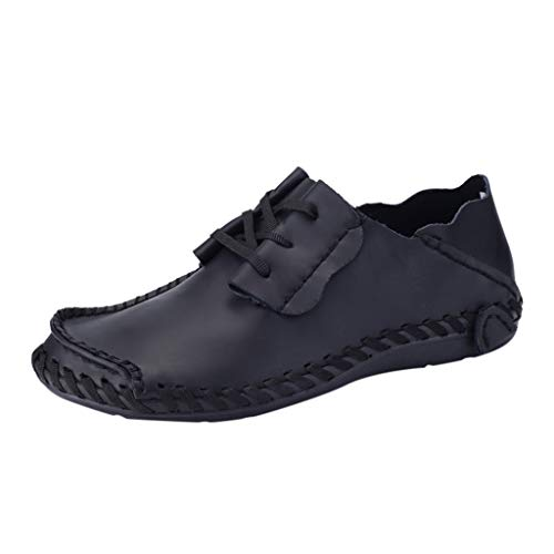 YU'TING - Scarpe da Barca, Mocassini Uomo Pelle Estivi Pantofole Casual Eleganti Slip On Scarpe da Guida Scarpe da Barca Classic Loafers Scarpe Stringate Basse Uomo