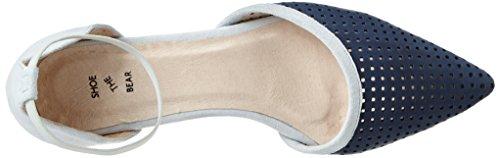 Shoe The Bear Damen Simone Pumps Blau (170 BLUE)