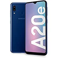 "Samsung Galaxy A20e Display 5.8"", 32 GB Espandibili, RAM 3 GB, Batteria 3000 mAh, 4G, Dual SIM Smartphone, Android 9 Pie, (2019) [Versione Italiana], Blue"