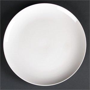 Lumina Runde Coupe Teller 260mm 260(Ø) mm/101/10,2cm weiß. Anzahl: 4Stück. - Coupe 10.25