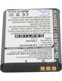 Batterie pour SAGEM MY501CI, 3.7V, 750mAh, Li-ion