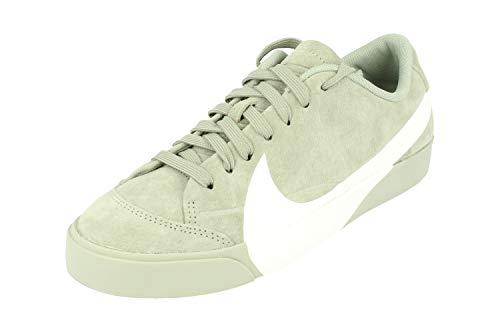 Nike Damen W Blazer City Low Lx Basketballschuhe Mehrfarbig White-Mica Green-Black 300, 37.5 EU -