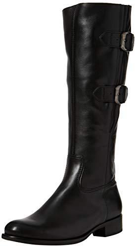 Damen Fashion Stiefel Schwarz (Gabor Shoes Damen Fashion Hohe Stiefel, Schwarz 27, 38 EU)
