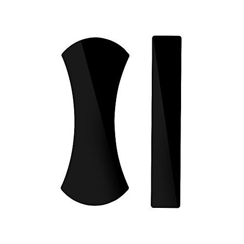 Preisvergleich Produktbild 2 Stück Neueste Nanotechnologie Aufkleber Stiky Pad Olycism Premium Fixate Gel Anti-Rutsch-Pads kann auf Glas, Spiegel, Whiteboards, Metall, Küchenschränke oder Fliesen, Mobile phone stand Auto GPS
