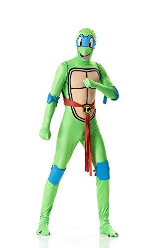 (Zooma eenage Mutant Ninja Schildkröte Cosplay Kostüm Film Leistung Overall)