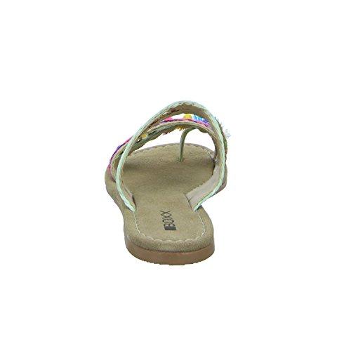 BOXX 67813/A Damen Pantolette bis 30mm Absatz Beige (Beige)