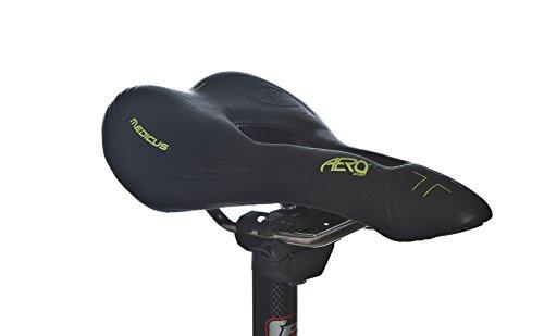 Aero Sport® Fahrradsattel Gel Medicus Herren MTB Rennen (Rennen-auto-nase)