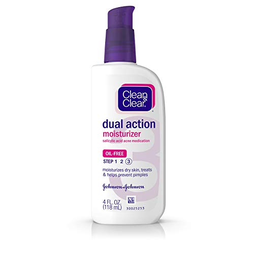Clean & Clear Essentials Dual Action Moisturizer, 4 Ounce