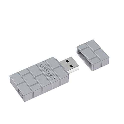 QUMOX Adaptador inalámbrico USB para PS Classic Windows Mac Raspberry Pi Switch