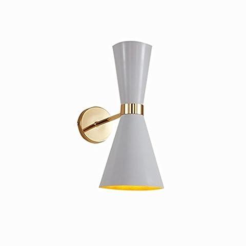 Applique Led Salon Salle À Manger Cuisine Chambre Lampe De Chambre Lampe De Chevet Simple Moderne Lampe D'Allée Lampe De Mur En Fer