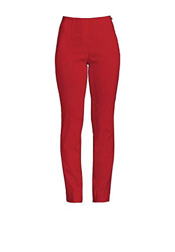 "Robell ""Ich will Marie"" - Pantaloni stretch, Slim Fit rot(40)"
