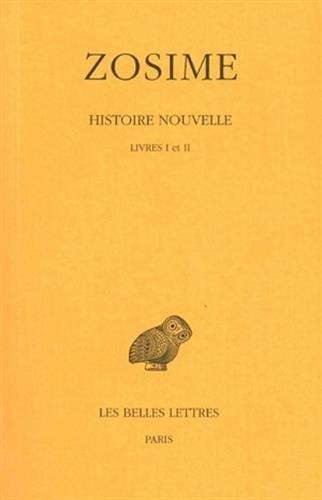 Histoire nouvelle, tome 1