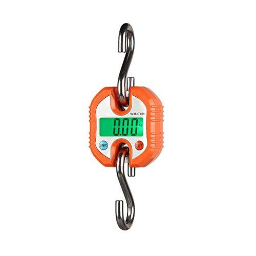 Preisvergleich Produktbild WH-C100 150kg x 50g Digital Hängewaage Edelstahl Elektronische Kranwaage Gepäck Waage Wiegen Werkzeughaken