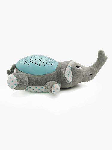 """LED-Lampe""""Elefant Dumbo"""" mit Sternenhimmel, Musik als Einschlafhilfe und Nacht-Tischlampe - und, Sternenhimmel, Nachttischlampe, Musik, mit, LEDLampeElefant, einschlafhilfe kind, einschlafhilfe, Dumbo, Als"""