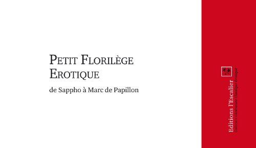 Petit Florilège Erotique