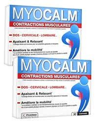 3C Pharma Myocalm Lot de 2 boites de 30 cp