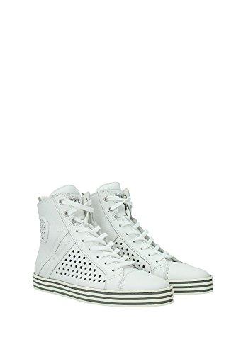 HXW1410N6301POB001 Hogan Sneakers Femme Cuir Blanc Blanc
