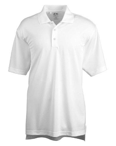 adidas Golf Mens Climalite Basic Short-Sleeve Polo (A130) -White -3XL -