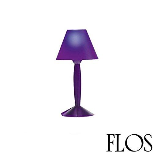 Flos Miss Sissi lámpara de mesa E1460W LED Morado diseño philippe starck 1991