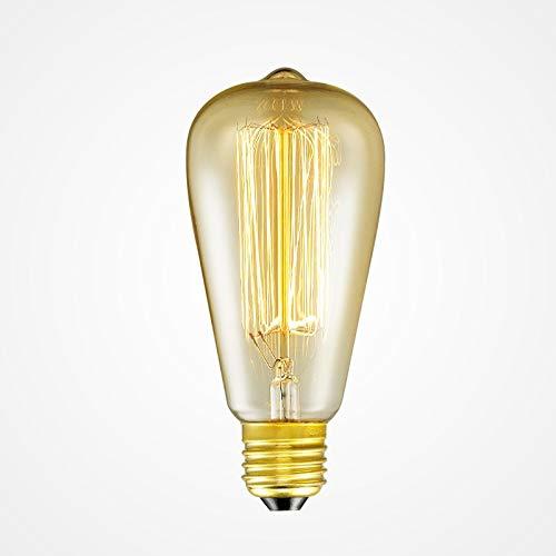 LED Glühbirne Jahrgang Edison Lichter Glühbirnen E26/27 Basis 120v/220v Glühbirnen 40w antike warme Glühbirne für Haus Anhänger Licht Dez -